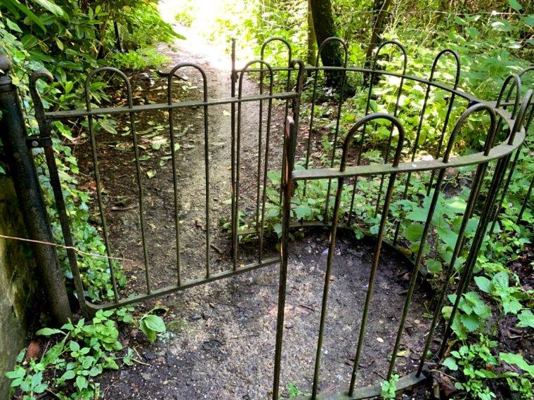 8- last gate