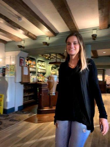 Ivy ordering beer 2